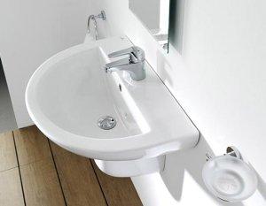 Керамические умывальники для ванной комнаты - самые практичные