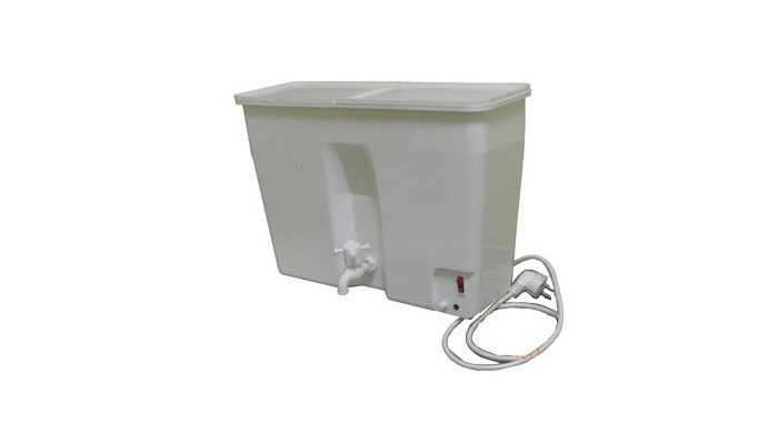 Мойка для дачи с подогревом воды