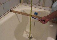 Особенности установки ванны в ванную комнату - определяем размеры