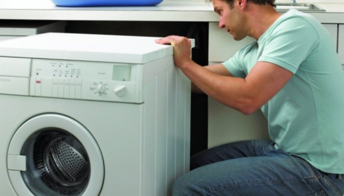 Выход канализации для стиральной машины