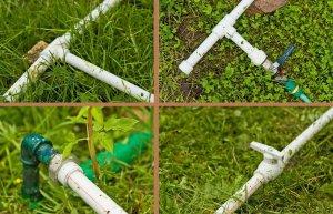 Как обустроить систему полива из пластиковых труб на даче?