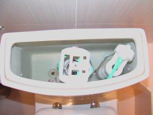 Наличие в сливном бачке для унитаза фильтра для воды - большой плюс