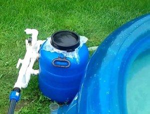 Особенности сборки песочного фильтра для бассейна своими руками