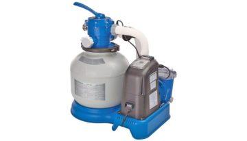 Песочный фильтр-насос для очистки воды в бассейне