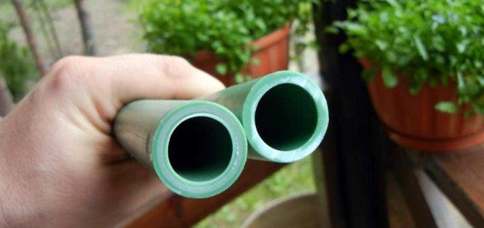 Применение пластиковых труб для водоснабжения на даче