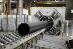 Процесс изготовления пластиковых труб