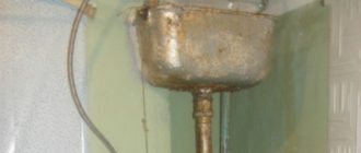 Сливной бачок для унитаза старого образца и способы его ремонта