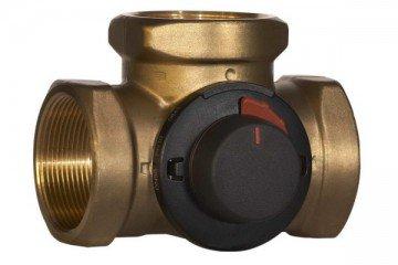 Трехходовой кран для регулировки температуры в системе отопления