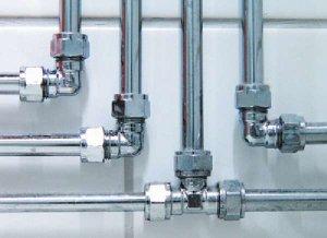 Водопровод из стальных бесшовных горячекатаных труб