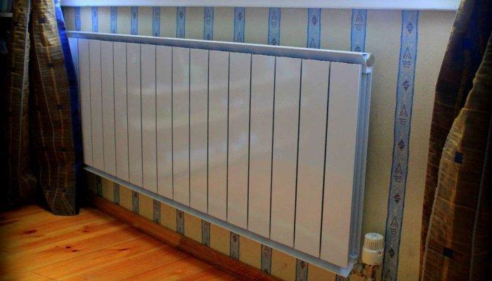 Алюминиевый радиатор недорогой и вполне подходит для частного дома