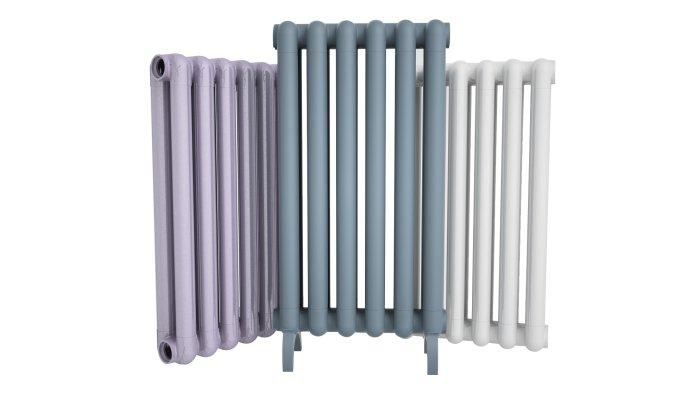 Чугунные радиаторы хорошо подходят для отопления частного дома