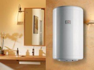 Иногда вместо холодной воды течет горячая из-за проблем с водонагревателем