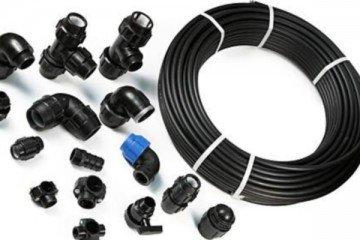 Использование полиэтиленовых труб для прокладки трубопроводов водоснабжения на даче