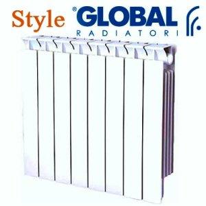 Итальянский бренд биметаллических радиаторов отопления Global Style