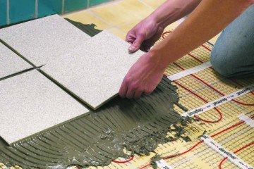 Какой теплый пол лучше подходит для укладки под плитку?