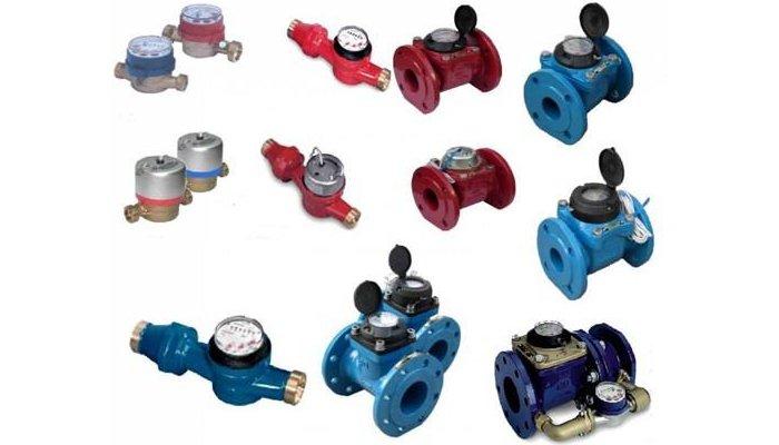 Конструкции и разновидности счетчиков для учета расхода воды