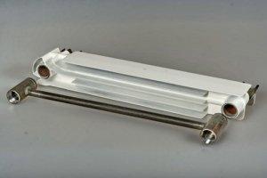 Конструкционные отличия биметаллических радиаторов от алюминиевых