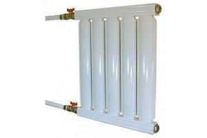 Конструкция литого алюминиевого радиатора отопления