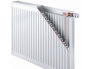 Конструкция панельных стальных радиаторов современного вида