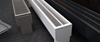 Особенности, рекомендации по выбору и установке напольных водяных конвекторов отопления