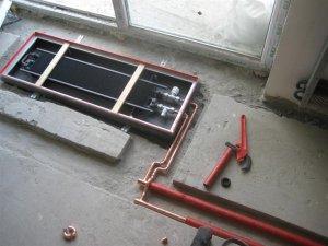Особенности установки напольных водяных конвекторов для отопления