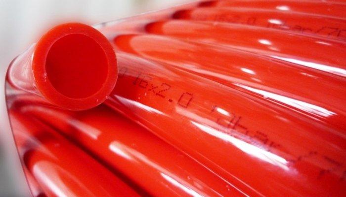 PEX труба (из сшитого полиэтилена) для водяного теплого пола