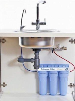 Пошаговая инструкция по установке фильтров для воды под мойку