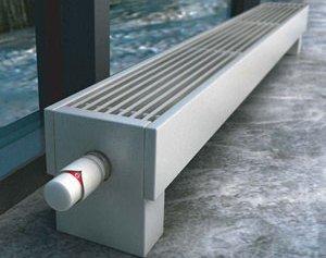 Преимущества и недостатки напольных конвекторов отопления водяного типа