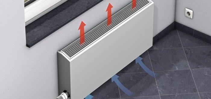 Принцип действия и другие особенности настенных водяных конвекторов отопления
