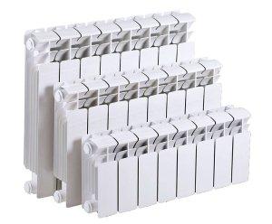 Разные размеры биметаллических радиаторов