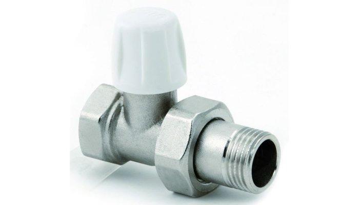 Регулировочный кран для радиаторов отопления