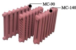 Современные популярные модели чугунных радиаторов