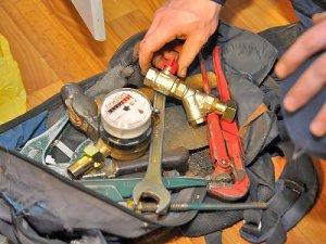 Список инструментов, необходимых для установки и замены счетчика воды