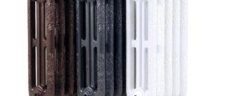Технические характеристики чугунных радиаторов отопления в подробностях