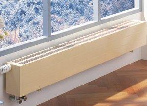 Виды и конструктивные особенности водяных настенных конвекторов отопления