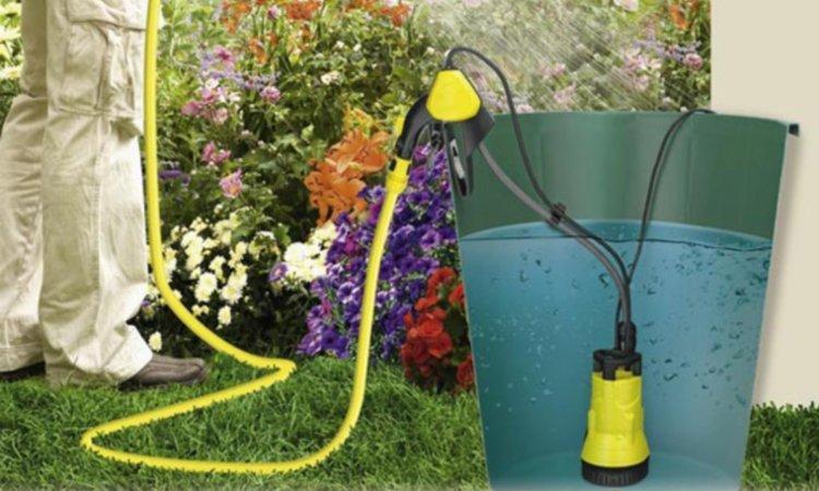 Бочковой насос для полива огорода на даче