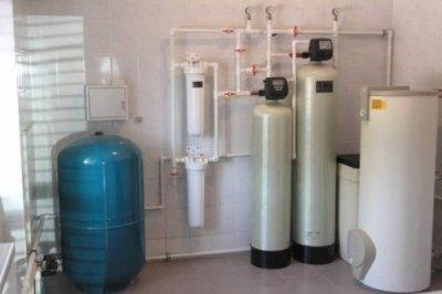 Этапы установки водяного фильтра от извести для воды из скважины