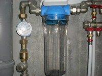 Фильтр грубой очистки воды для загородного дома