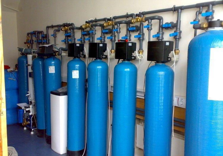 Фильтровальная стационарная станция для жесткой воды