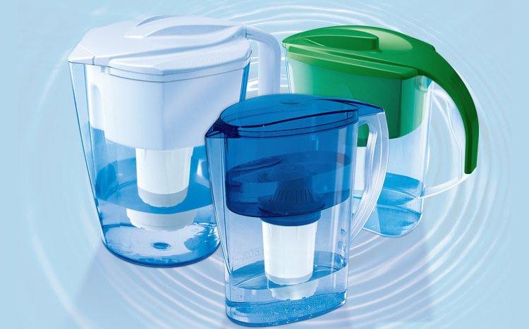 Фильтры-кувшины для умягчения жесткой воды