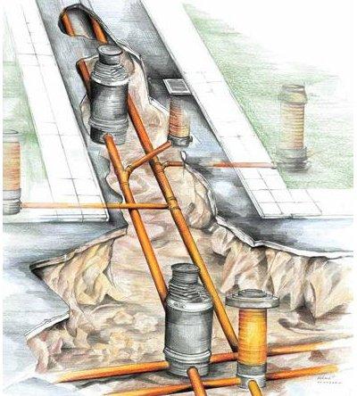 Инструкция по монтажу труб ПВХ для наружной канализации