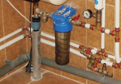 Инструкция по установке фильтра грубой очистки на даче