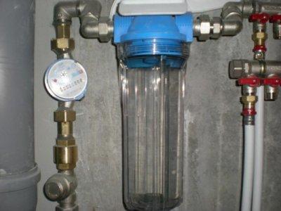 Инструкция по установке фильтра грубой очистки воды в квартире