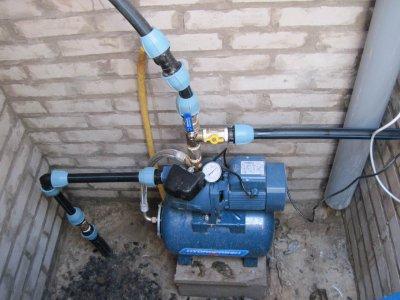 Инструкция по установке насоса для полива на даче