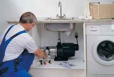 Как подключить насос для канализации в кухне?