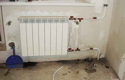Как произвести монтаж радиаторов в частном доме?