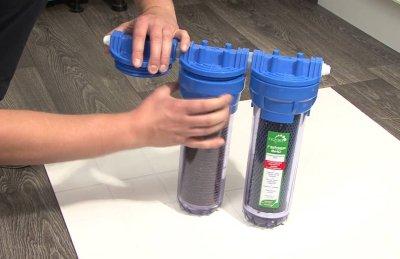 Как самостоятельно установить фильтр для жесткой воды на даче?