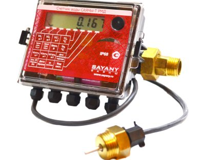 Какие бывают счетчики для горячей воды с термодатчиком?