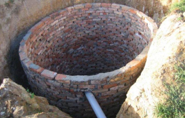 Канализация в виде выгребной ямы для дачного участка