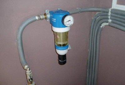 Картриджный фильтр для грубой очистки воды перед счетчиком